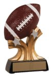 Football Shooting Star Resin Trophy Football or Soccer Trophy Awards and Medals