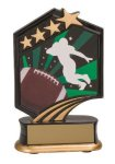 Football Resin Trophy Football or Soccer Trophy Awards and Medals