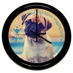 Round Clock with Black Frame Sales Awards